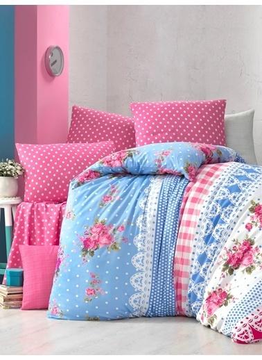 Komfort Home Tek Kişilik Polycotton Nevresim Takımı (Garden) Renkli